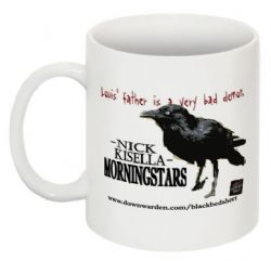 Morningstars Mug -Bruce the Raven